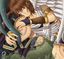 A little nap after work | Kid Icarus by NeriHyuga