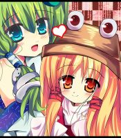 I love my sister Touhou by miacis83