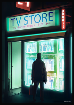 TV Store by antonjorch