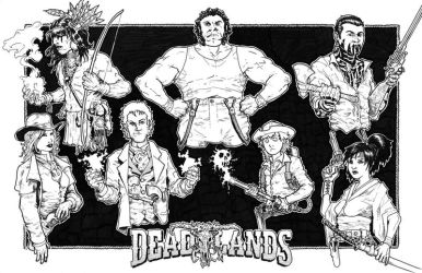Deadlands Gaming Group Commission by stockmanray