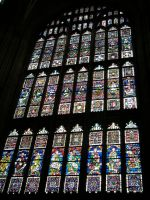 Stained Glass Cathedral Window by laughcrylive