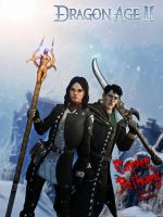 Dragon Age II: Carver and Bethany MageKillers by Berserker79
