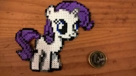 Filly Rarity - Mini Hama beads by Yffrit