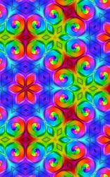 Multicolored Swirls by Dr-Pen