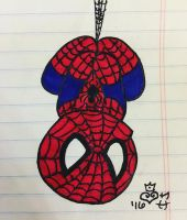 Spiderman Doodle by j0wey