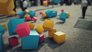 Cubes in New York by Pieter12