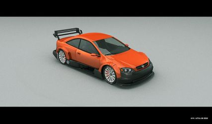 Opel Astra Coupe V8 :: 1st by pontiac