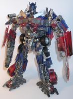 Transformers Optimus Prime custom by Catskind