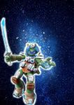 TMNT 2012 WALLPAPER- LEO SPACE by karailove