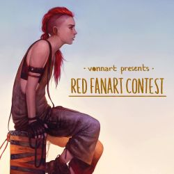 Red Fanart Contest by Tvonn9