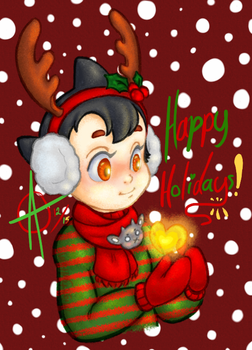 Happy Holidays from Atom by Shadow-Link-77