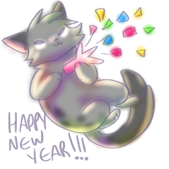 HERE'S TO 2018!!! by Applethecat13