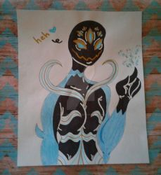 WRATH sister symbiote, FURY by voltron0effect