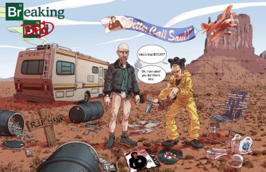 Breaking Bad by KevinHarrell