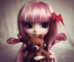 Luka and her Teddy by jen-den1