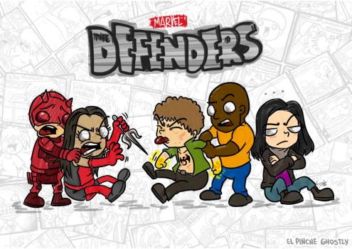 The Baby Defenders by ghostly666