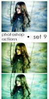 Photoshop Actions - Pack 9 by Lune-Tutorials