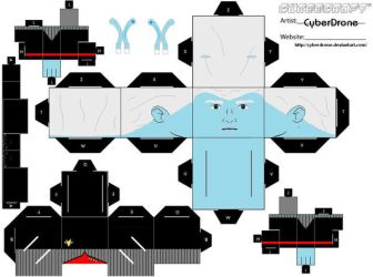 Cubee- Andorian Captain DS9 by CyberDrone