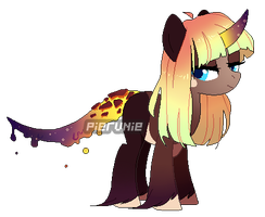 Cosmic Magma pony adopt [CLOSED] by pierunie