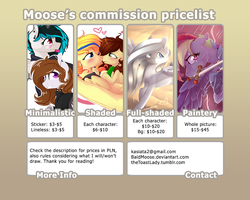 Commissions info by BaldMoose