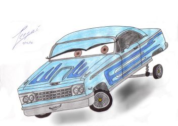 Lowrider-Girls carsona -req- by Tengai-Skyline