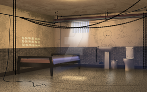 Prison cell afternoon by anirhapsodist
