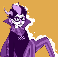 bleh more eridan by Doctorlongfinger