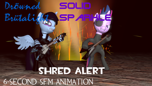Drowned Brutalight, Solid Sparkle - Shred Alert by Optimus97