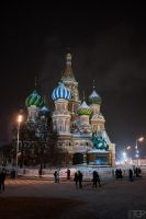 Saint Basils Cathedral, Moscow by RaumKraehe