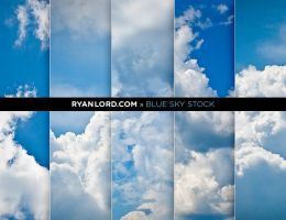 Cloud Stock Photography | Blue Sky Blues by RyanLord