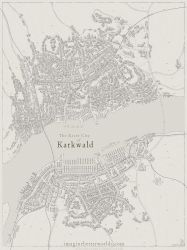 River city of Karkwald by SirInkman