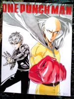 One Punch Man by jhudegarcia