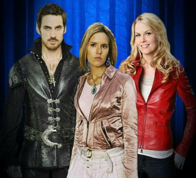 OUAT: CaptainSwan + OC daughter by MissJulyFarraday