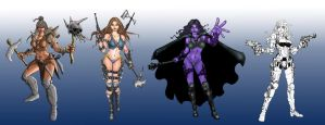 Concepts-1 Characters by cleofas661