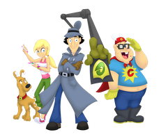 Go Go Gadget Role Call! by DelDiz