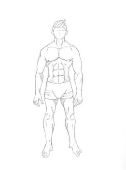 Male body practice by Gemrix