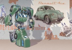 4CV by a-loft-on-cybertron