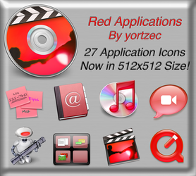 Red Applications by yortzec