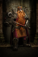 Magni Bronzebeard - World of Warcraft by Hogal