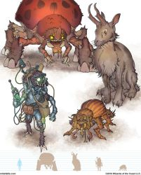 Gamma World Monsters 7 by MikeFaille