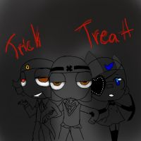 trick and treat by SGT-Xavian