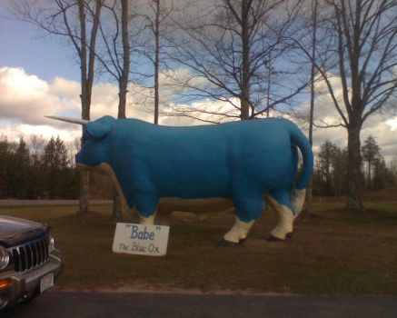 Babe the blue ox by fum316