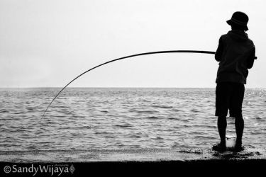 Fisherman's Silhouette by thesaintdevil
