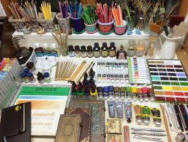 Tools of the trade by Heliocyan