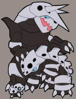 Aron, Lairon, and Aggron