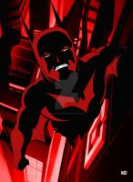 Batman Beyond by nathanobrien