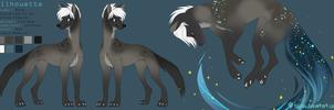 Silhouette Reference Sheet 2014 by omniscientbongos