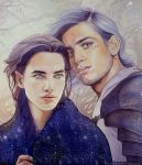 Beren and Luthien by kimberly80