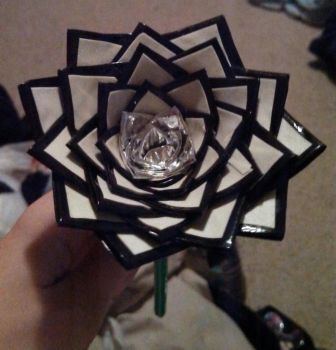 Glow  duct tape rose by LKYPG13