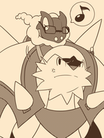 Frogadier and Chesnaught